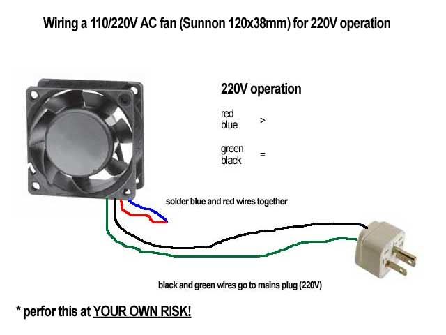 120 mm sunnon fan wiring doubts anandtech forums